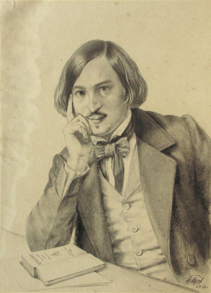 1-го апреля 1809 года родился Николай Васильевич Гоголь.