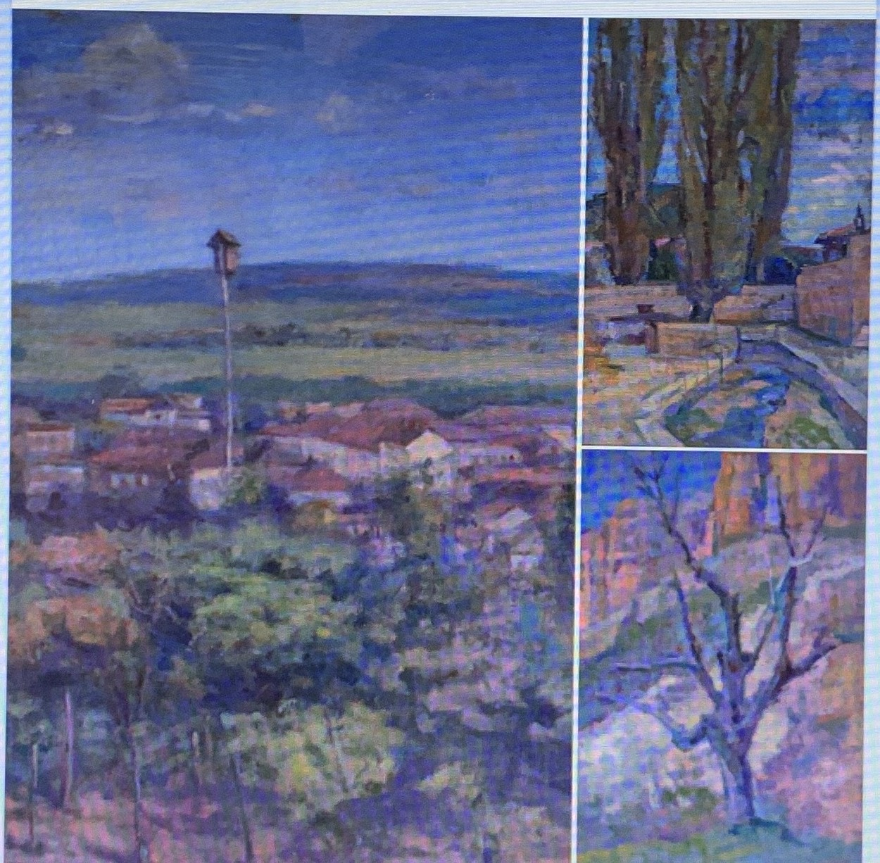 Таруса и Крым. Импрессионистские пейзажи А.М . Глускина на 183 аукционе 27 января 2021