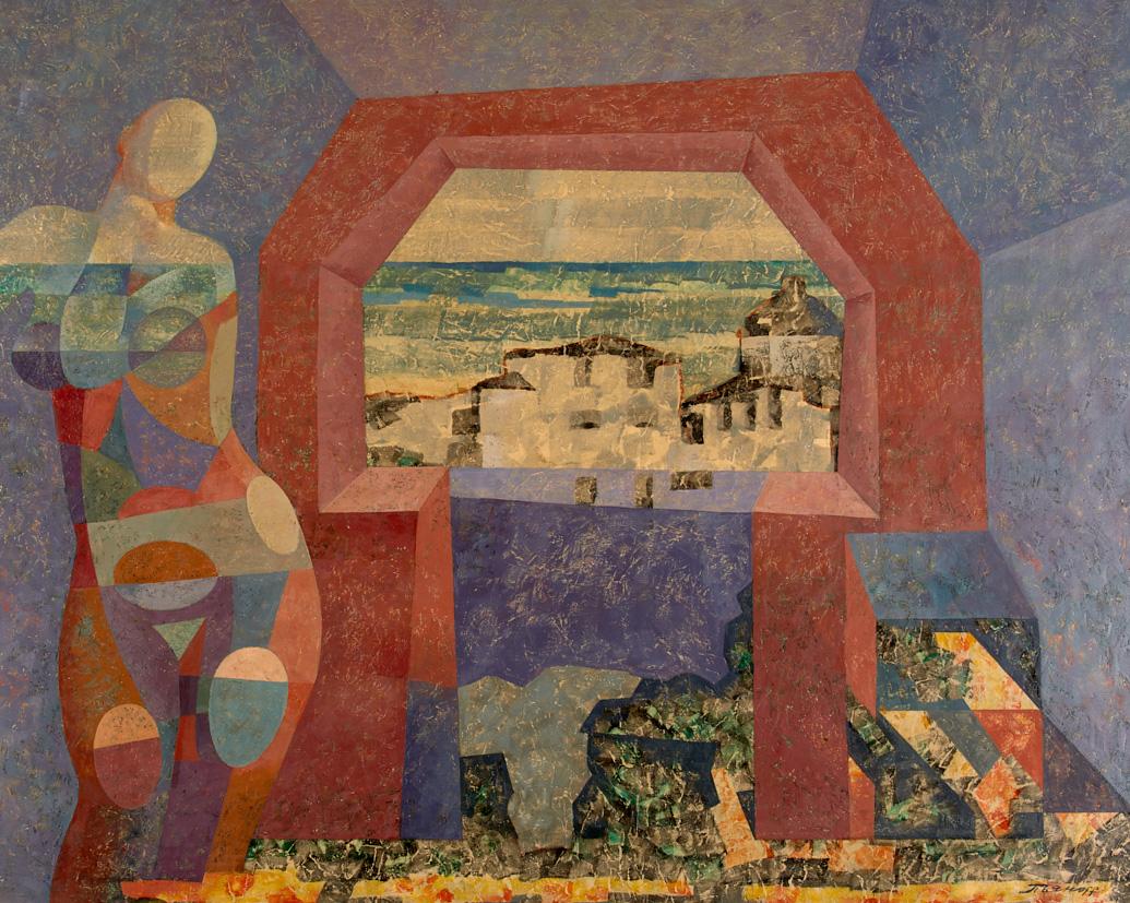 Две орфистских композиции художника-нонконформиста  В. А. Пьянова на 183 аукционе 27 января 2021