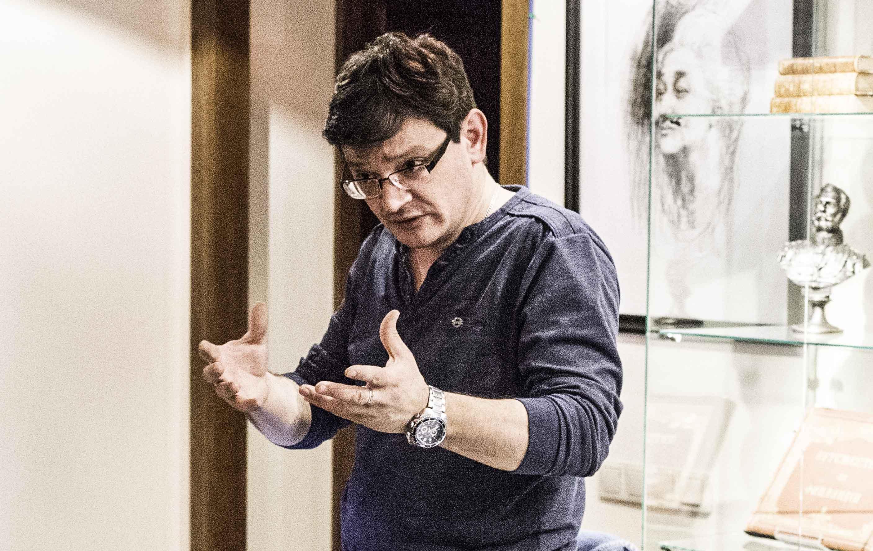 Литературный вечер Павла Крючкова «Мне голос был…»
