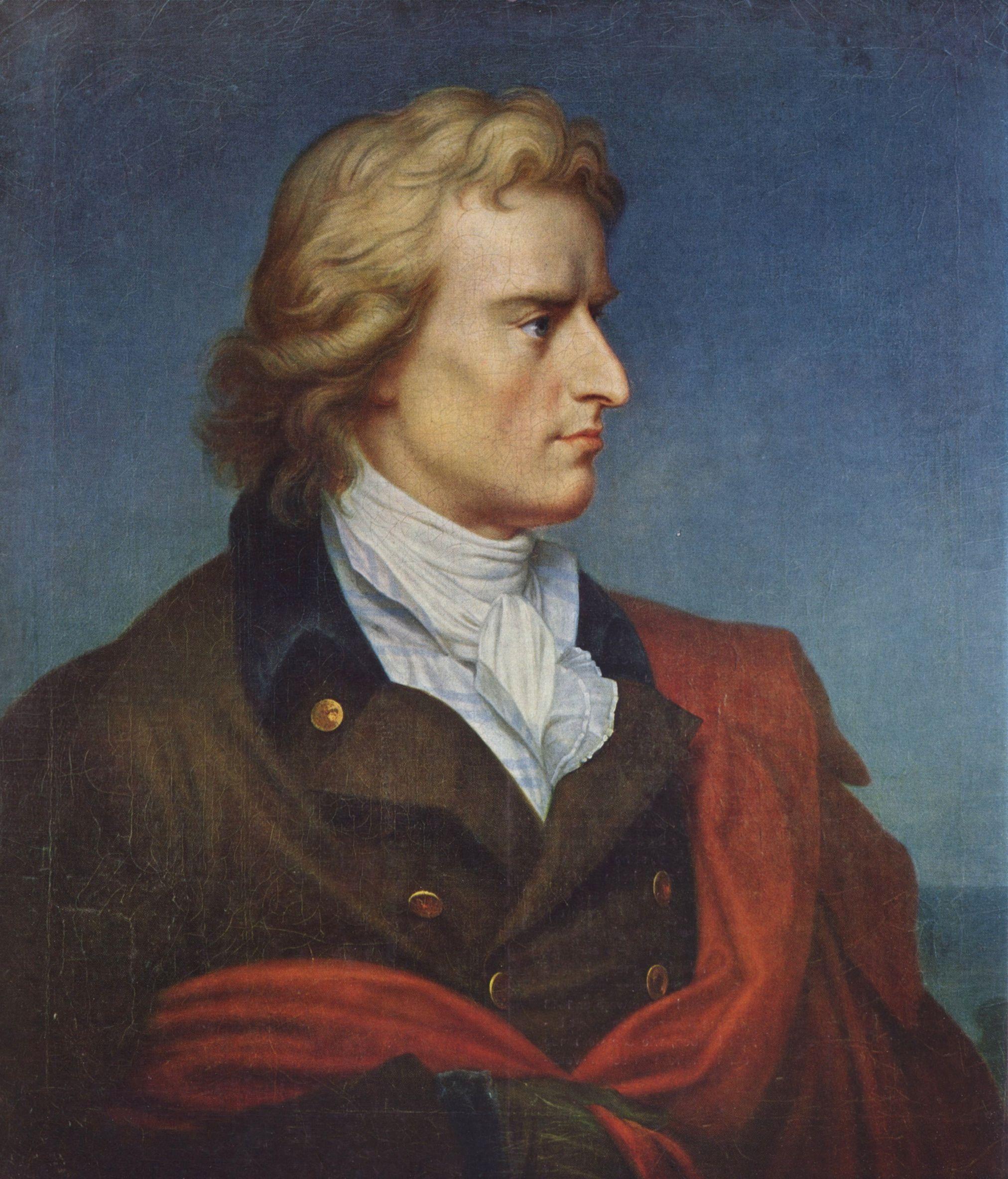 260 лет назад родился немецкий поэт, философ и драматург, великий идеалист и гуманист Фридрих Шиллер.